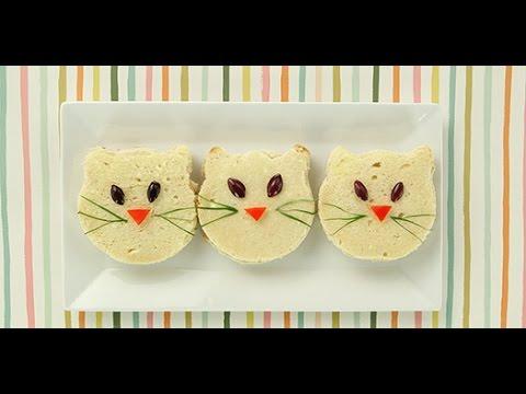 5 Cute Lunch Box Sandwich Ideas
