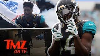 NFL Star Steps In Poop!!! | TMZ TV