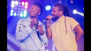Stonebwoy's fans shower tonnes of money on Samini at Bhim Concert 2017