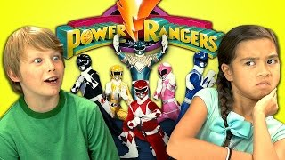 KIDS REACT TO POWER RANGERS