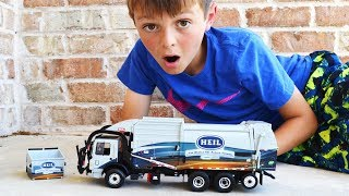 Garbage Truck Videos For Children l First Gear Heil Front Loader UNBOXING l Garbage Trucks Rule