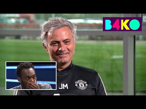 Essien emotional after Mourinho's heartfelt message | B4KO | Astro SuperSport