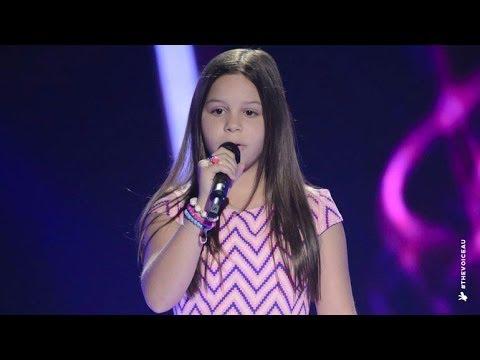 Romy Sings Turning Tables | The Voice Kids Australia 2014
