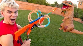 MONSTER VS PLASMA NERF BLASTER!!