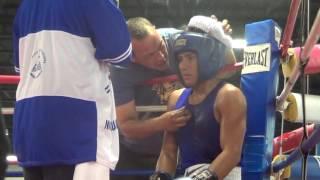 Juniel Garcia vs Erick Lanzas- Florida Golden Gloves Semi-Final