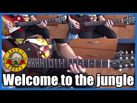 Guns N' Roses Welcome to the jungle full cover HD