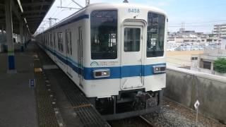 東武8000系8158F 東武アーバンパークライン各駅停車船橋行き 新柏駅発車