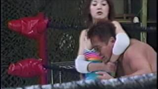 Attack of the Wrestling girl 耐える女を見るのは男の楽しみだ!
