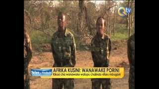 PORINI:  Kikosi cha wanawake tupu kulinda wanyama pori