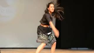 This IIT GIRL Dance Stole  Heart of all students College Function