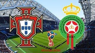 World Cup 2018 - Portugal Vs Morocco - 20/06/18 - FIFA 18