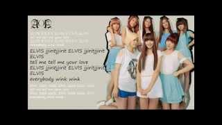 AOA Elvis Lyrics (Hangul English)