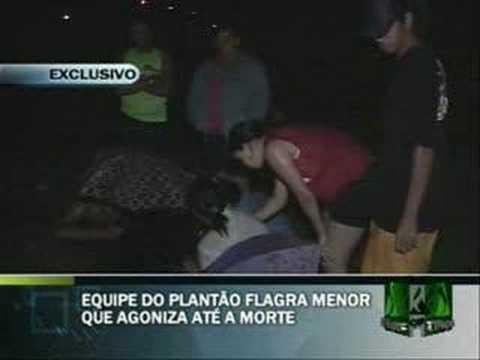 Plantão Alagoas flagra menor que agoniza até a morte
