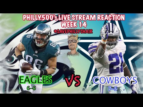 Xxx Mp4 Eagles VS Cowboys Live Reaction Battle In Big D SavePhillysHair 3gp Sex