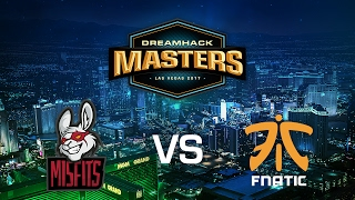 Misfits vs. Fnatic - Mirage - Group B - DreamHack Masters Las Vegas 2017
