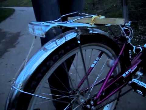 Велогенератор бесконтактный