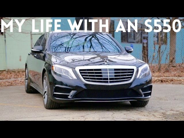 Living With A '16 Mercedes S550
