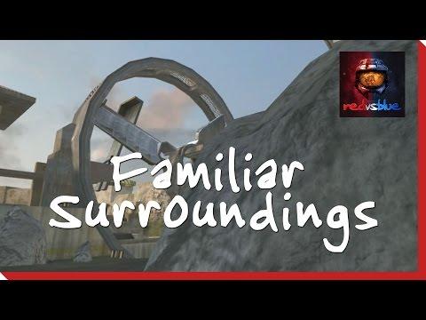 Familiar Surroundings – Episode 58 – Red vs. Blue Season 4