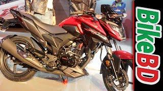 Honda Motorcycles At Dhaka Bike Show 2018, Honda X-Blade 160R in Bangladesh