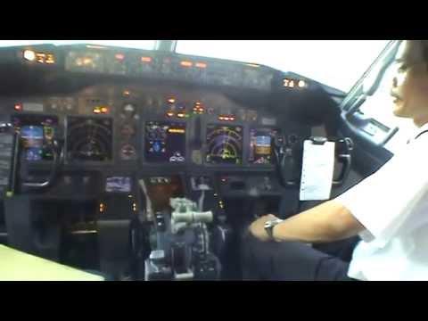 Garuda Indonesia Cockpit Boeing 737 800 NG