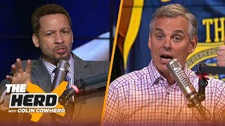 Chris Broussard's Advice To KD On How To Handle The Media, Talks Trade Deadline | NBA | THE HERD