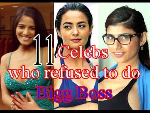 11 Celebs who refused to do Bigg Boss