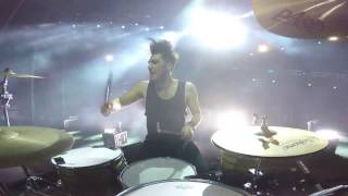 NEW! Rolling Stones: 2CELLOS - Satisfaction (DRUM CAM) - Dusan Kranjc angle