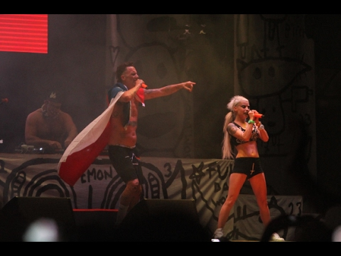 """Die Antwoord  """"UGLY BOY"""" Lollapalooza Chile 2016"""