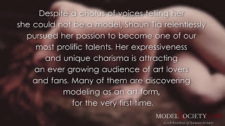 Shantia Veney on How to be a Model - Shaun Tia and The Art of Sensual Nude Modeling