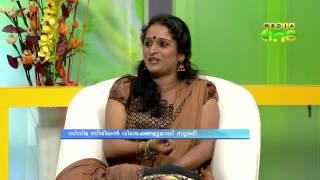 Surabhi in mediaOne morning news