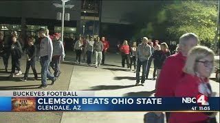 Fan reaction after Clemson beats Ohio State