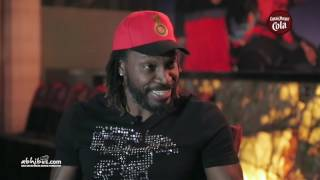 Universal boss GAYLE speaking in KANNADA and crediting his PARENTS in KANNADA