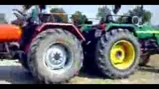 hmt 5911 VS Jhone deree tractor by yadwinder bhau 9872245121t