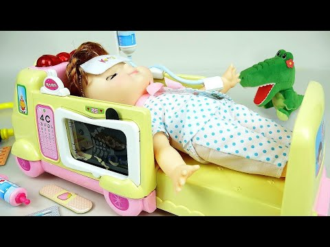 Xxx Mp4 Ambulance Baby Doll And Doctor Toys Play 3gp Sex