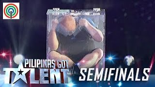 Pilipinas Got Talent Season 5 Live Semifinals: Vernon De Vera- Water Tank Escape Artist