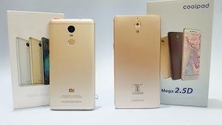 Xiaomi Redmi Note 3 vs Coolpad Mega (Exclusive Comparison)