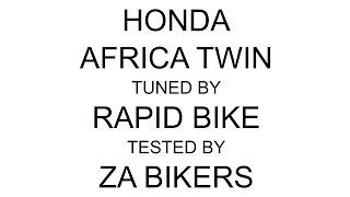 Honda Africa Twin Tuned By Rapid Bike