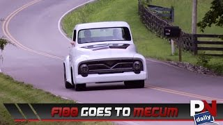 Our F100 From Truck Tech Is Headed To Mecum!