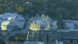 Atlanta's Georgia Dome demolished after just 25 years