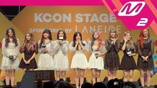 [KCON2018TH x M2] STAR Live Talk - fromis_9 (프로미스나인)