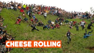 The World's Stupidest Competition - Cheese rolling