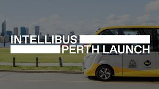 Chris Riddell launches the first driverless bus in Australia