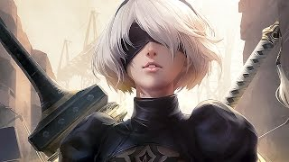 Nier: Automata All Cutscenes Game Movie (PS4 PRO)