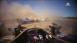 All indycar Crashes - Portland (2018)