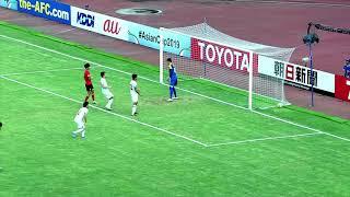Korea Republic 1-0 Tajikistan (AFC U19 Indonesia 2018 : Quarter Final)