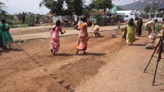 Village girls participating pongal festival game 2017 funny videos