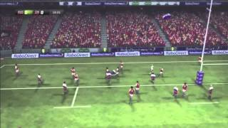 The Ultimate Rugby Gaming Montage (Amazing Tries)