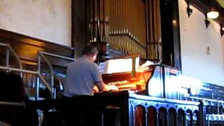 Onward Christian Soldiers; played on the Estey op2525 pipe organ