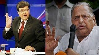 The Newshour Debate: Mulayam Singh Pro Rapists? - Full Debate (10th April 2014)
