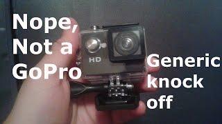 NoPro - Generic GoPro Review - SJ4000 Action Camera 720P Waterproof Sports Camcorder DV HD Car